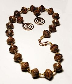 Jewelry Made From Paper Beads | 120000--90390_product_19564559_thumb_large.jpg