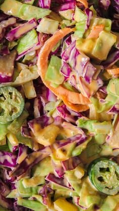 Southwestern Cole Slaw With Avocado Dressing And Pepitas Recipes ...