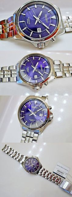 Other Watches 166739: New Mens Seiko Ska581 Modern Non-Working Sample 100M Kinetic Watch 5M82 0A60 BUY IT NOW ONLY: $40.0
