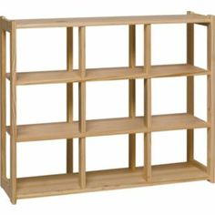 buy 9 compartment storage shelves pine at argos co uk your online shop