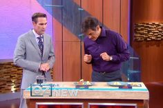 """Dr. Oz:  April 25, 2014 Episode.  """"Relieve Knee Pain without Surgery.""""  Three exercises:  The Clam (builds glutes and stabilizes hips), The Straight Leg Raise (for the quads, which are big knee stabilizers), and The Ballet Move (which builds the arches)."""