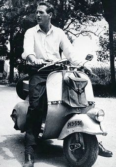 Paul Newman and a Vespa - sold!!!