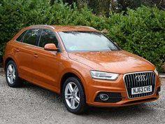 Used 2013 (63 reg) Orange Audi Q3 2.0 TDI S Line 5dr for sale on RAC Cars