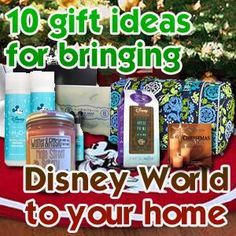 Missing Disney World? 10 gift ideas to bring a little Disney World to your home