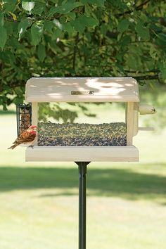 Multi Bird Feeder - 4 in 1 Feeder from Gardener's Supply in Vermont