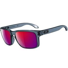 424330fd77f Oakley Holbrook Sunglasses - Crystal Black   +Red Iridium Oakley Batwolf