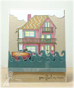 Float My Boat by Charmaine Ikach #Cardmaking, #Summerfun