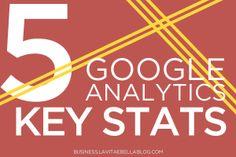 Google Analytics Key Stats - 5 Key Stats to Know About