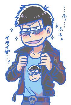 ( ̄ω ̄) karamatsu boy~♡