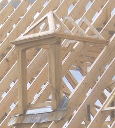 Steel Trusses, Roof Trusses, Loft Conversion Balcony, Shed Playhouse, Roof Truss Design, General Construction, Dormer Windows, Roof Window, A Frame House