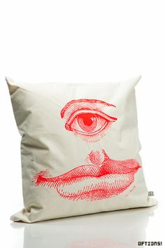 Manray Eye Cushions by INAMATT (Cyclops)