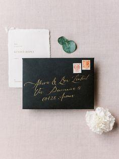 Dates, Elegant Winter Wedding, Gold Calligraphy, Letterpress Printing, Wedding Announcements, James Bond, Design Projects, Thank You Cards, Illustration