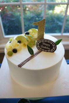 Green tea chiffon cake from Paris Baguette: