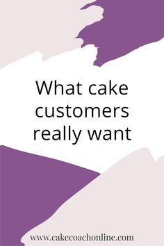 Customers for a home bakery or cake business were asked what they really wanted when dealing with a cake decorator or designers. And we wrote a blog about it. Come and visit to find out more.
