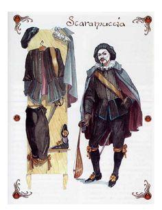 A.a.v.v. - Maschere Italiane  Scaramuccia