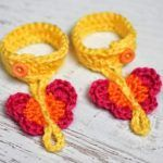 17 Sweet And Simple Crochet Butterfly Ideas