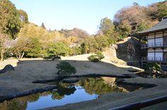 Outside of temple, Kamakura