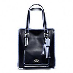 Learn about the Coach Legacy Collection vintage inspired handbags