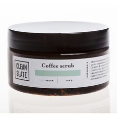 BODY SCRUB | coffee by clean slate | Cranmore Home