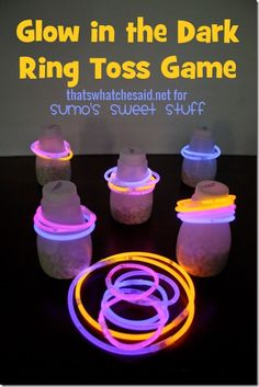 Glow in the Dark Ring Toss thatswhatchesaid-dot-net