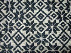ノルディック柄 こぎん刺し koginnzashi embroidery