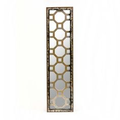 Distressed Quatrefoil Mirror Plaque | Kirklands