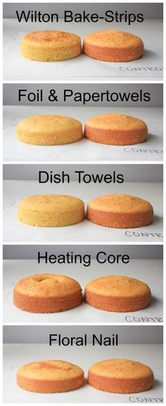 We tested 5 methods for baking cakes flat from the oven and the results might surprise you! https://www.craftsy.com/blog/2015/08/how-to-bake-a-flat-cake/?cr_linkid=Pinterest_Cake_OP_BLOG_BlogRefer&cr_maid=89991&regMessageId=21&cr_source=Pinterest&cr_medium=Social%20Engagement
