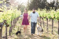 Romantic Winery Engagement Photos in California | Echo Media Photography | Folktale Winery | Reverie Gallery Wedding Blog