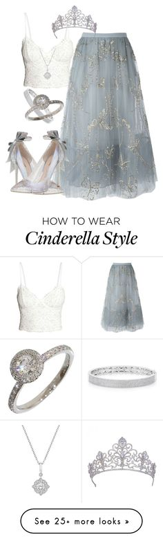 """""""Cinderella inspo"""" by bellasprada on Polyvore featuring Valentino, Anne Sisteron and Piaget"""