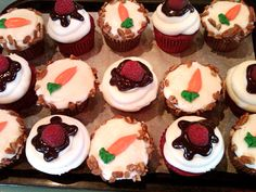Cupcakes from Bread Winners Cafe and Bakery in Dallas, TX