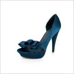 """Yeah-- I'll probably go with blue heels for my """"Something blue""""."""