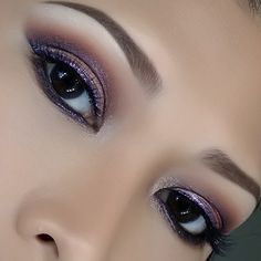 'Glam NYE' look by MyTouch using Makeup Geek's Cocoa Bear, Peach Smoothie, Shimma Shimma eyeshadows along with Bewitched pigment.