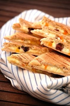 greek panini with feta and olives