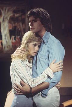 """Newlyweds Monica (Patsy Rahn) and Jeff Webber (Richard Dean Anderson) joined the staff of General Hospital despite Jeff's fear of being compared to his older deceased brother, Rick, on ABC Daytime's """"General Hospital"""". Jeff missed his brother, as did Monica, who had once been engaged to Rick. #1970s #GH50 #GH"""