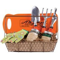 Give the gift of gardening choose from a variety of for Gardening tools gift basket