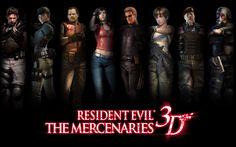 Resident Evil: The Mercenaries 3D - Characters