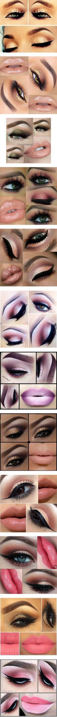 Beauty by dariarosek on Polyvore featuring beauty products, makeup, eye makeup, eyes, beauty, maquiagem, filler, lips, makeup/nails and lip