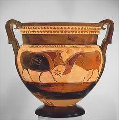 Krater Greece, 6th century BC The Metropolitan Museum of Art