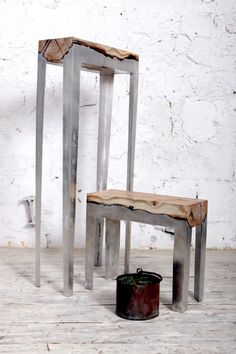 Aluminum/Wood furniture