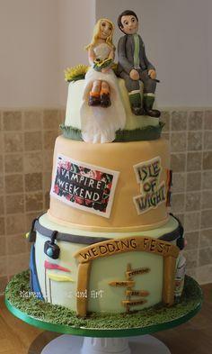Image Result For Festival Wedding Cake