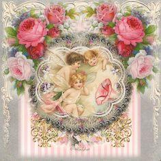 sweet cherub ephemera...