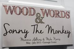 "Carnegie's Gallery Hop exhibit ""WOODS & WORDS"" featuring Minnie Adkins is still open. Stop by for a visit!"