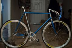 Since RELUCTANTLY selling my Nagasawa I will be building up a newly acquired Bishop track frame. Nagasawa as she was Track Cycling, Wheels, Bicycle, Bicycles, Bicycle Kick, Bike, Bmx, Cruiser Bicycle