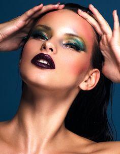 Makeup by Nikkimakeup1 Birds of paradise beauty editorial