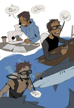 Lance with sharks is very very good