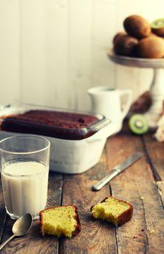 Bizcocho de kiwis (Kiwi Plumcake) | Kanela y Limón #kiwis #tiendaonline #fruta www.pinterest.com/cultivatuskiwis
