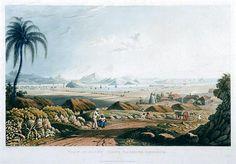 J Johnson View of Saint John's Harbour, Antigua Water Island, St Vincent Grenadines, Virgin Gorda, Historical Images, West Indies, Trinidad, Caribbean, Saga, Colonial