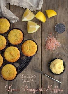 I just have to say WOW. I just tried this recipe, and these muffins are probably the most awesome thing I've had in a long time. I've always adored lemon-poppyseed muffins and have missed them for several years now since I gave up gluten and sugar.