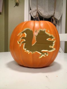 USC Gamecock Pumpkin