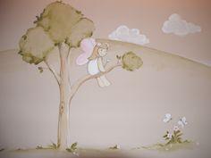 Mural pintado a mano by carolmoreno.com